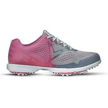 Callaway 38W631PNK65018, Damen Golfschuhe rosa Rosa (Pink / Grey) 37 EU