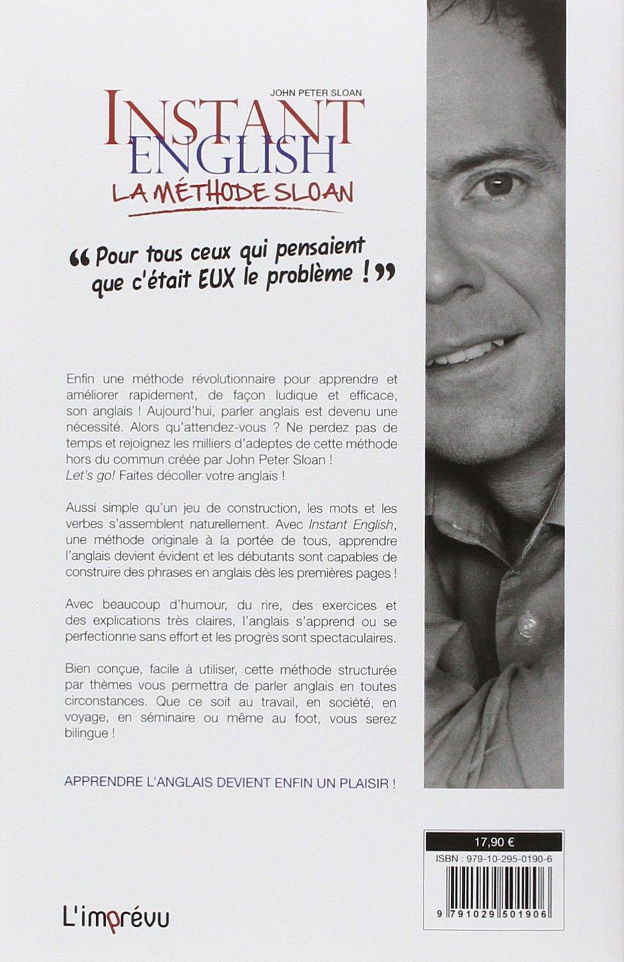 Amazon Fr Instant English La Methode Sloan Sloan John Peter Campa Cosimo Delmotte Axel Livres