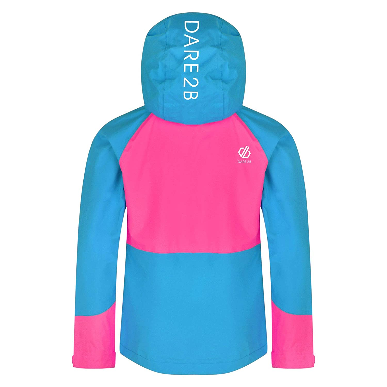 Dare 2b Kinder Affiliate Lightweight Waterproof Hooded Shell Jacke