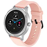 WAFA Smart Watch for Android Phone and iPhone Compatible , Fitness Tracker Watch with Heart Rate Blood Pressure Monitor…