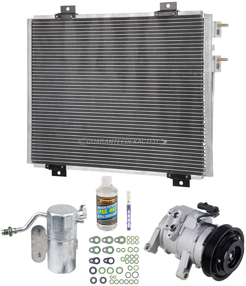 BuyAutoParts 60-82492CK New For Dodge Dakota 2005 2006 2007 A//C Kit w//AC Compressor Condenser /& Drier