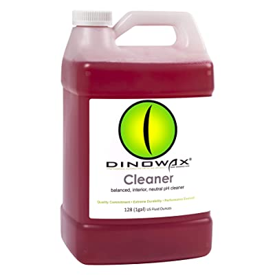 Dinowax Cleaner | Concentrated Red Degreaser for Interior & Exterior Detailing | Professional-Grade (128 Oz): Automotive