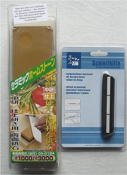 Naniwa - Piedra japonesa para afilar cuchillos de damasco al ...