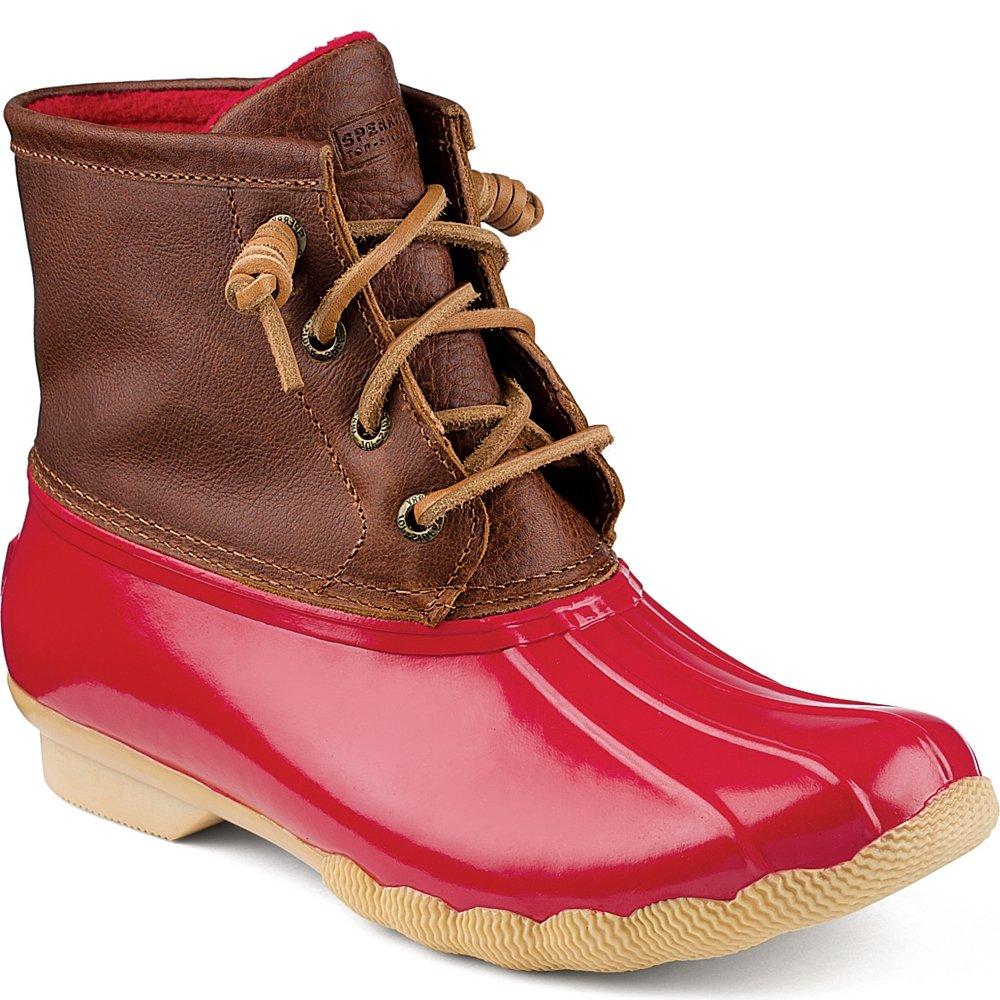 Sperry Top-Sider Women's Saltwater Rope Emboss Neoprene B(M) Rain Boot B013VL6H38 5.5 B(M) Neoprene US|Cognac/Red a7758d