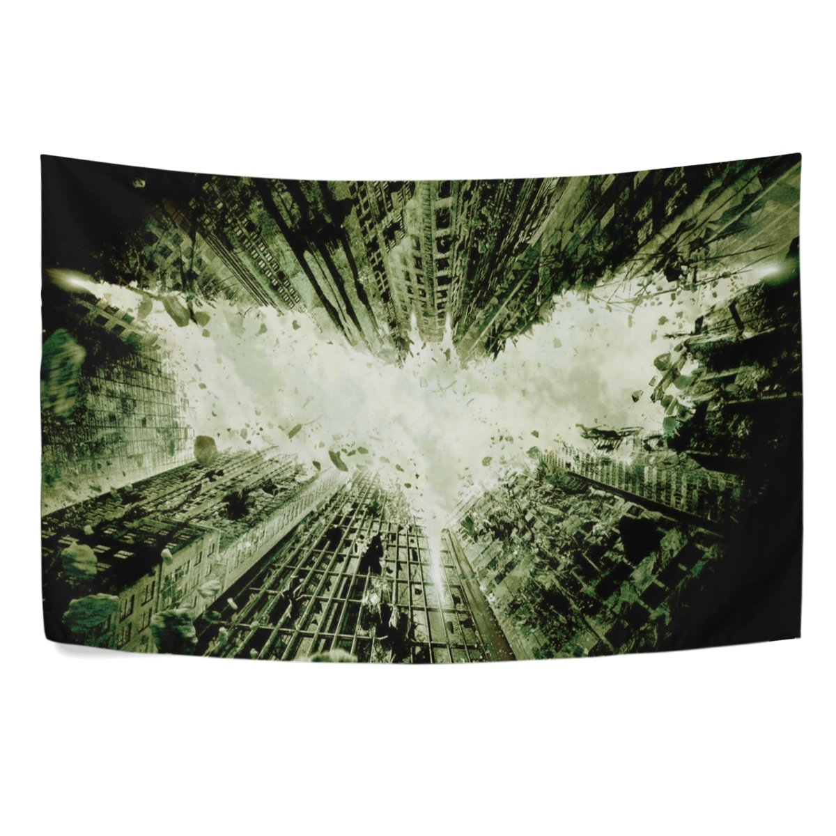 Silva Green Bat Tapestry wall Hanging Wall Tapestry Black and White Tapestry Clean Hippie Tapestry Beach Tapestry Wall Tapestry for Bedroom Green, 60x51 Mabel D