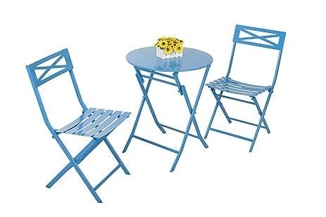 amazon com captiva designs folding outdoor patio furniture sets
