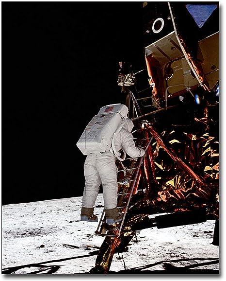 Apollo 11 Buzz Aldrin On The Moon 11x14 Silver Halide Photo Print Historical Memorabilia
