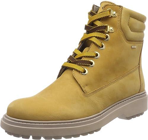 Geox Damen D Asheely Np ABX C Biker Boots