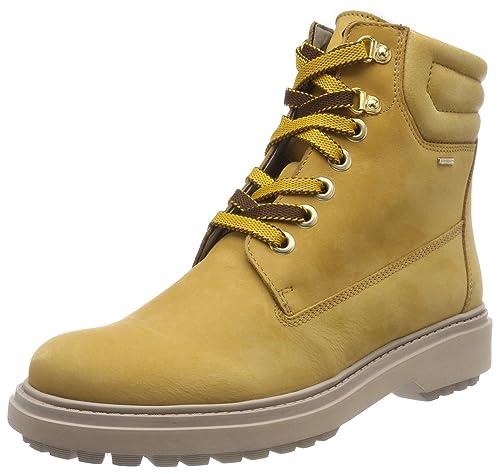 7c96aa10913 Geox Women s s D Asheely Np ABX C Biker Boots  Amazon.co.uk  Shoes ...