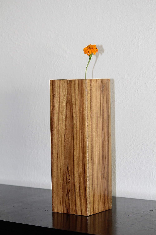 Village Creation Wooden Table Vase 1 Pc