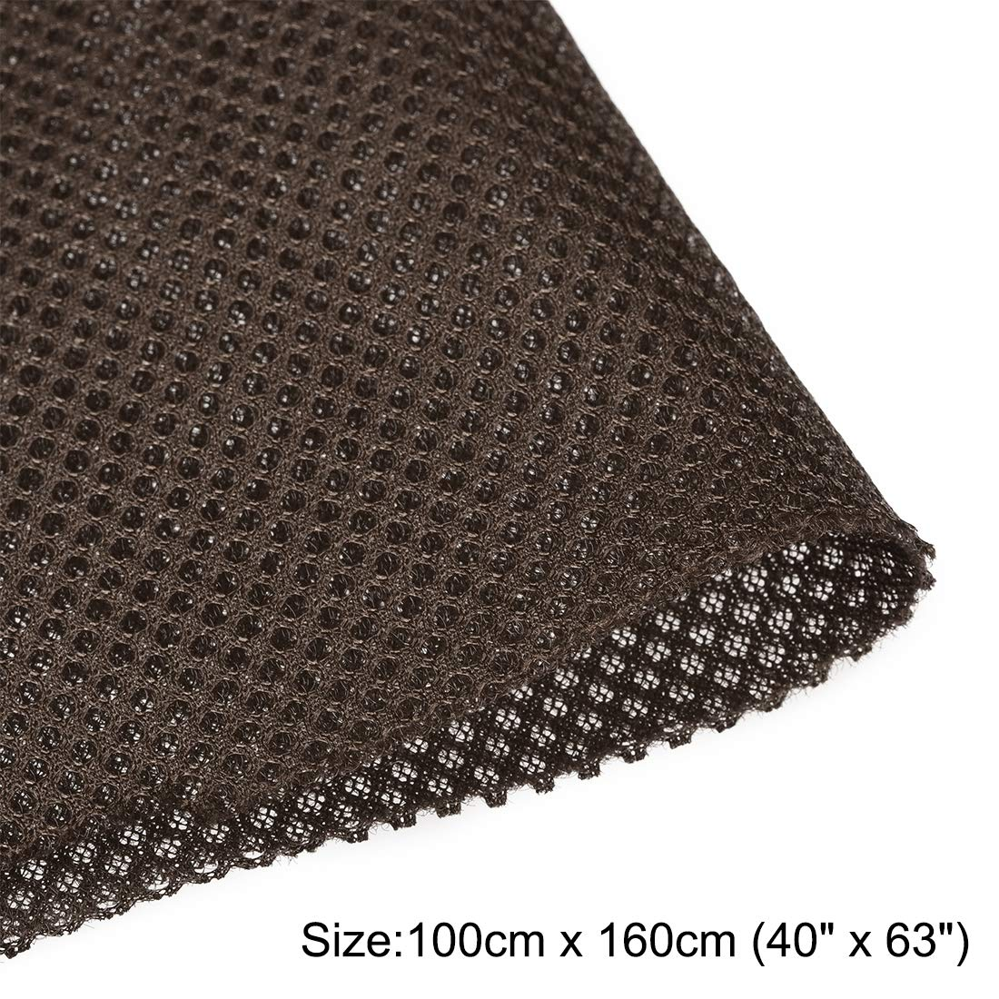uxcell Red Speaker Mesh Grill Cloth Stereo Box Fabric Dustproof Audio Cloth 50cm x 160cm 20 inches x 63 inches
