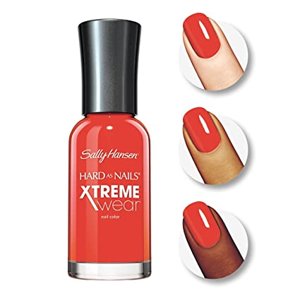 Amazon.com : Sally Hansen Hard as Nails Xtreme Wear, Hot Tamale ...