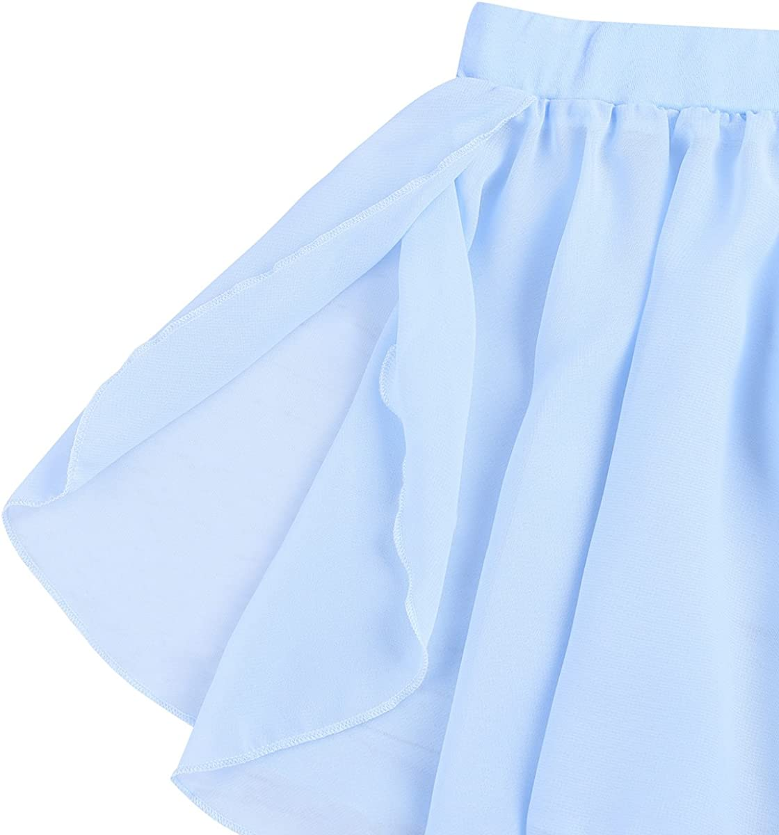 iiniim Enfant Fille Jupe de Danse Classique Moderne Ballet Tutu Robe de Princesse Courte Mousseline Volants Jupe Pliss/é Costume Casual Basique 3-8 Ans