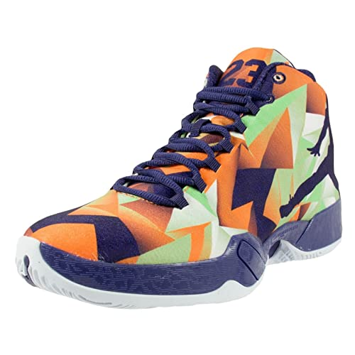 finest selection 7ab71 80b98 Men s Nike Air Jordan XX9 Basketball Shoes Purple 695515-625 10 BRIGHT  MNDRN INK-WHITE-LT PSN GREEN 10.5 D(M) US  Buy Online at Low Prices in  India ...
