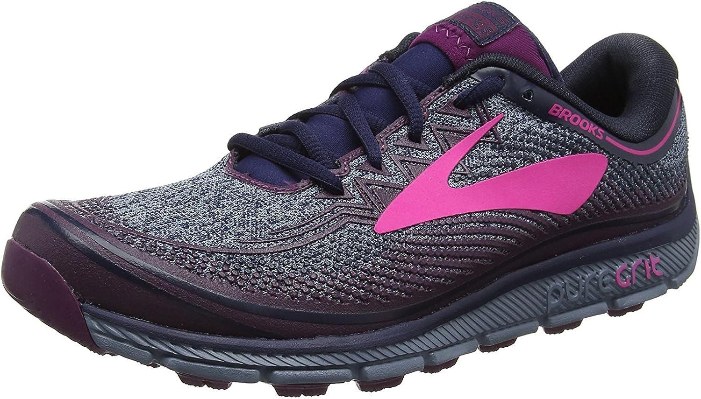 Brooks PureGrit 6 Trail - Zapatillas de running para mujer, color Morado, talla 9.5 UK: Amazon.es: Zapatos y complementos