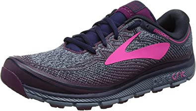 Brooks PureGrit 6 Trail - Zapatillas de running para mujer, color Morado, talla 9.5 UK: Amazon.es: Zapatos y complementos