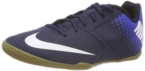 Nike Bombax Indoor Soccer Shoes (Blue White ae056c43026