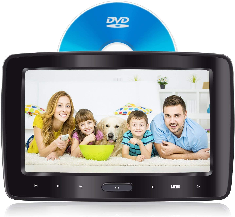 eRapta Headrest DVD Player