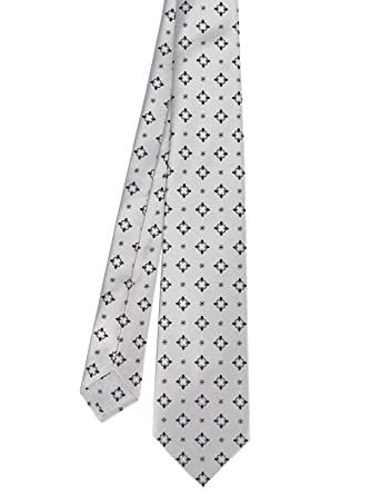 4d1c91b84c69 Kiton Men's 9E7203 Grey Silk Tie at Amazon Men's Clothing store: