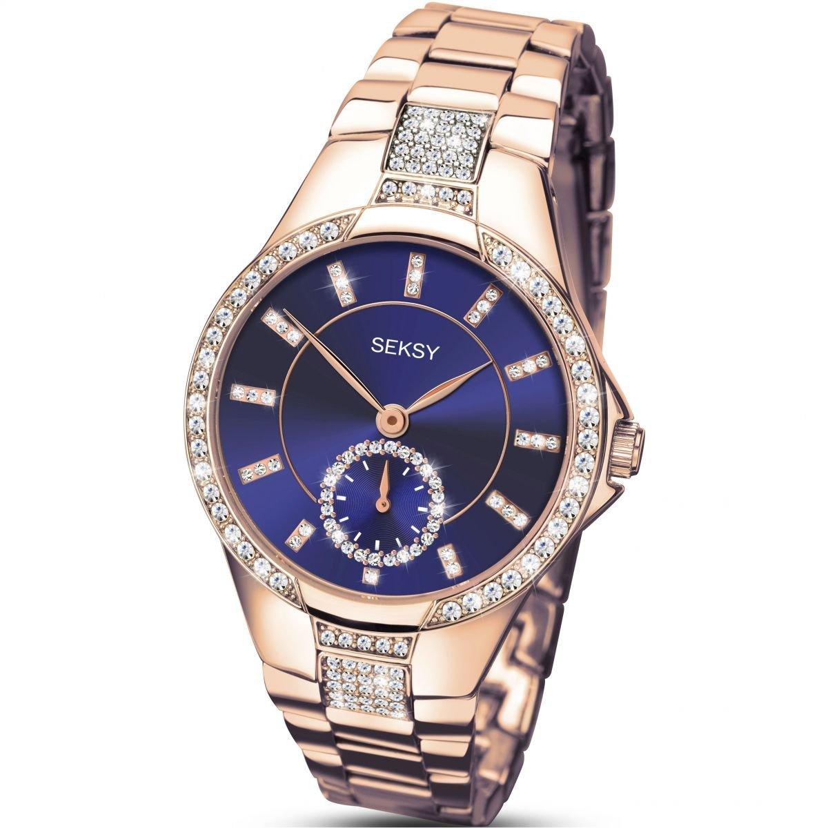 Reloj 2183.37 - Reloj de Cuarzo para Mujeres, Color Azul: Amazon.es: Relojes