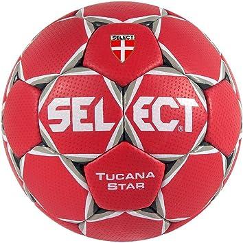 TALLA 3. Select TUCANA Star Balonmano Modelo Especial–Rojo