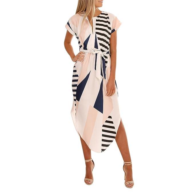 Longra Ropa Mujer Vestidos de fiesta,Longra ☆ Vestidos Mujer Moda 2018 Ropa de Irregular