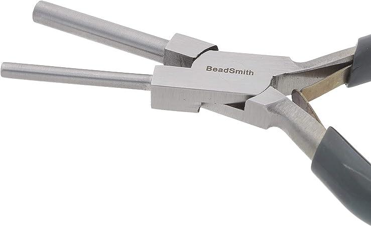 Beadsmith 3,5 y 5,5 mm, con resorte, 7 pulgadas Alicates para hacer fianzas