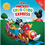 Disney Mickey Mouse Clubhouse: Choo Choo Express Lift-the-Flap (8x8 with Flaps)