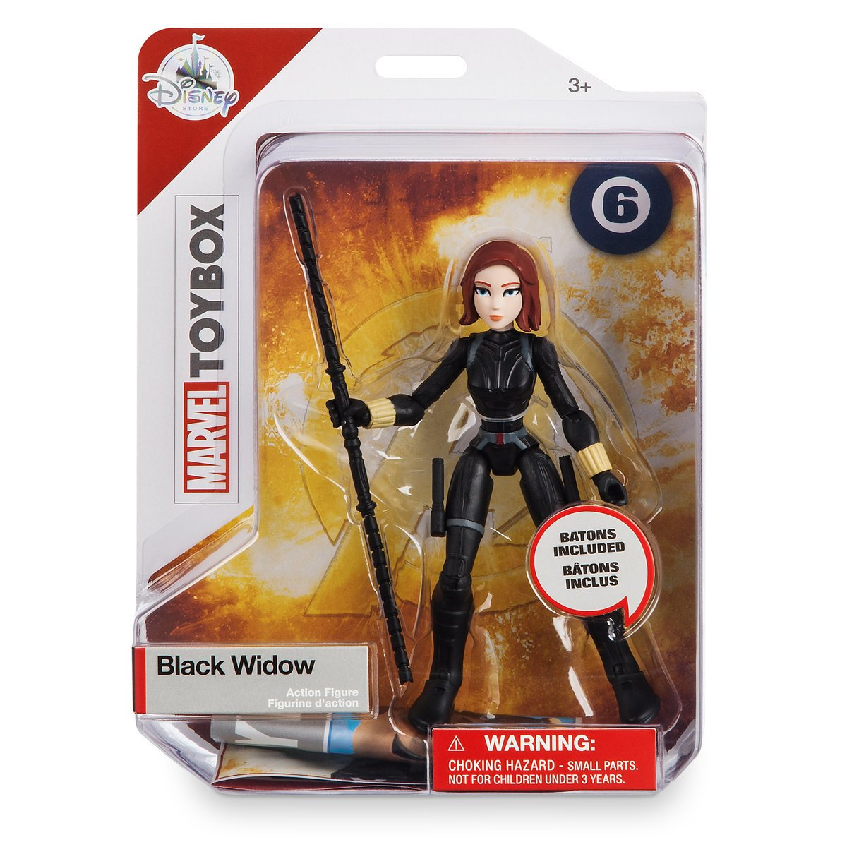 Marvel Toybox Black Widow Deluxe Action Figure Disney