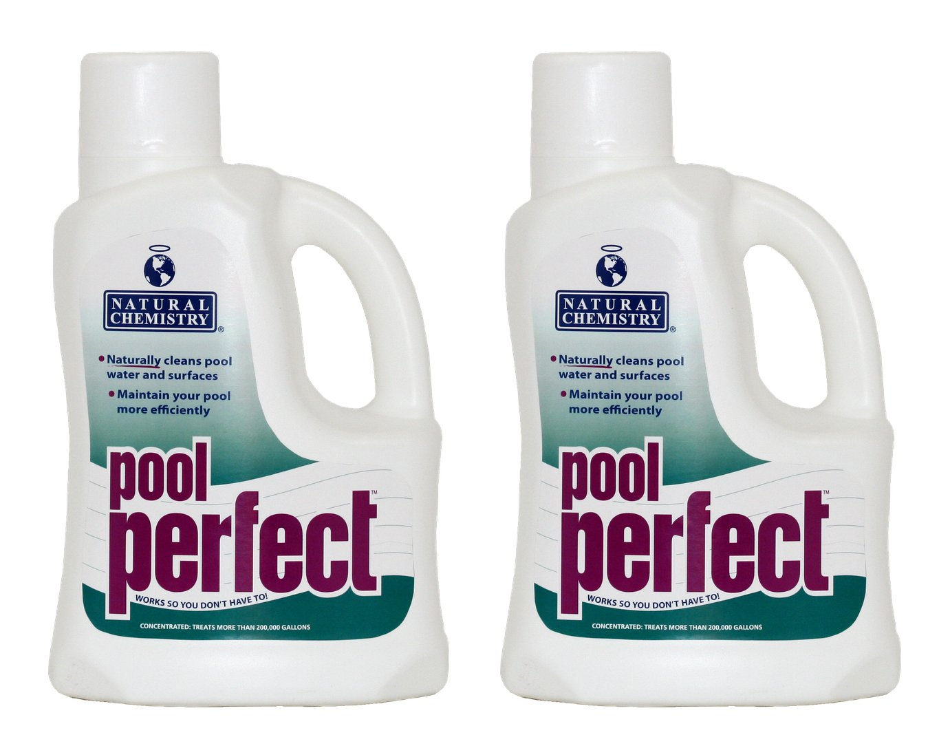 Natural Chemistry 2 03121 Swimming Pool Perfect Enzyme Oil Scum - 3 Liters Each by Natural Chemistry