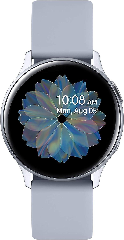 Samsung Galaxy Watch Active2 - Smartwatch, Bluetooth, Plata, 40 mm