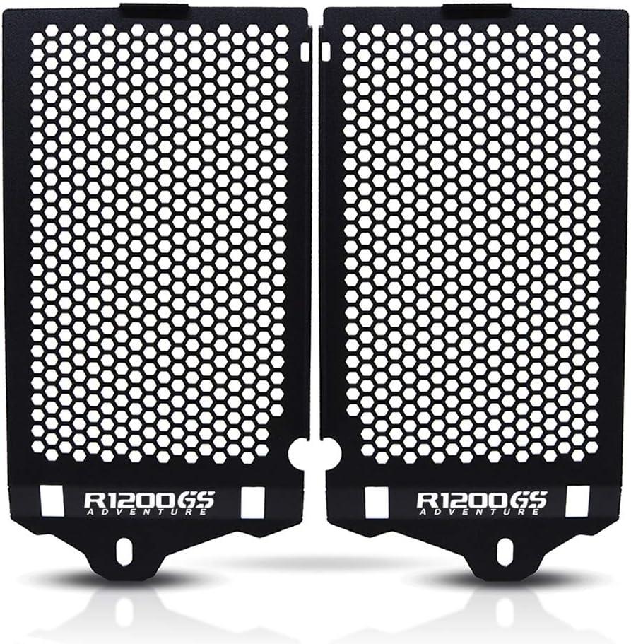 Repuestos Powersports For BMW R1200GS Adventure R 1200 GS ADV LS 2013 a 2019 2018 2017 Radiador de la motocicleta cubierta protectora Guardia cubierta de radiador (Color : R1200GS Adv logo)