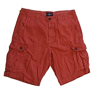 f9a79268d2 American Eagle Mens Cotton Combat Cargo Casual Shorts: Amazon.co.uk:  Clothing