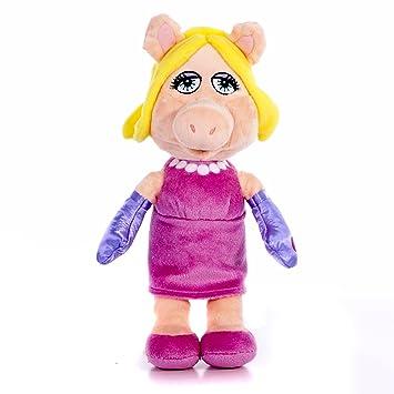 Disney Muppets Flopsies Miss Piggy - Peluche de Piggy (25,4 cm)