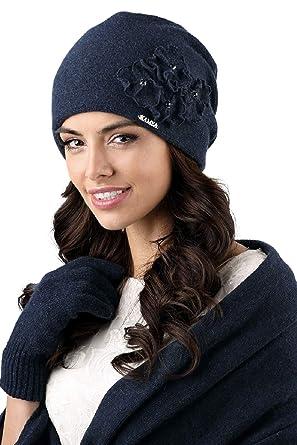 282ef9861f0 Kamea - Winterset Andora - Bonnet avec foulard assorti - Choix de couleur