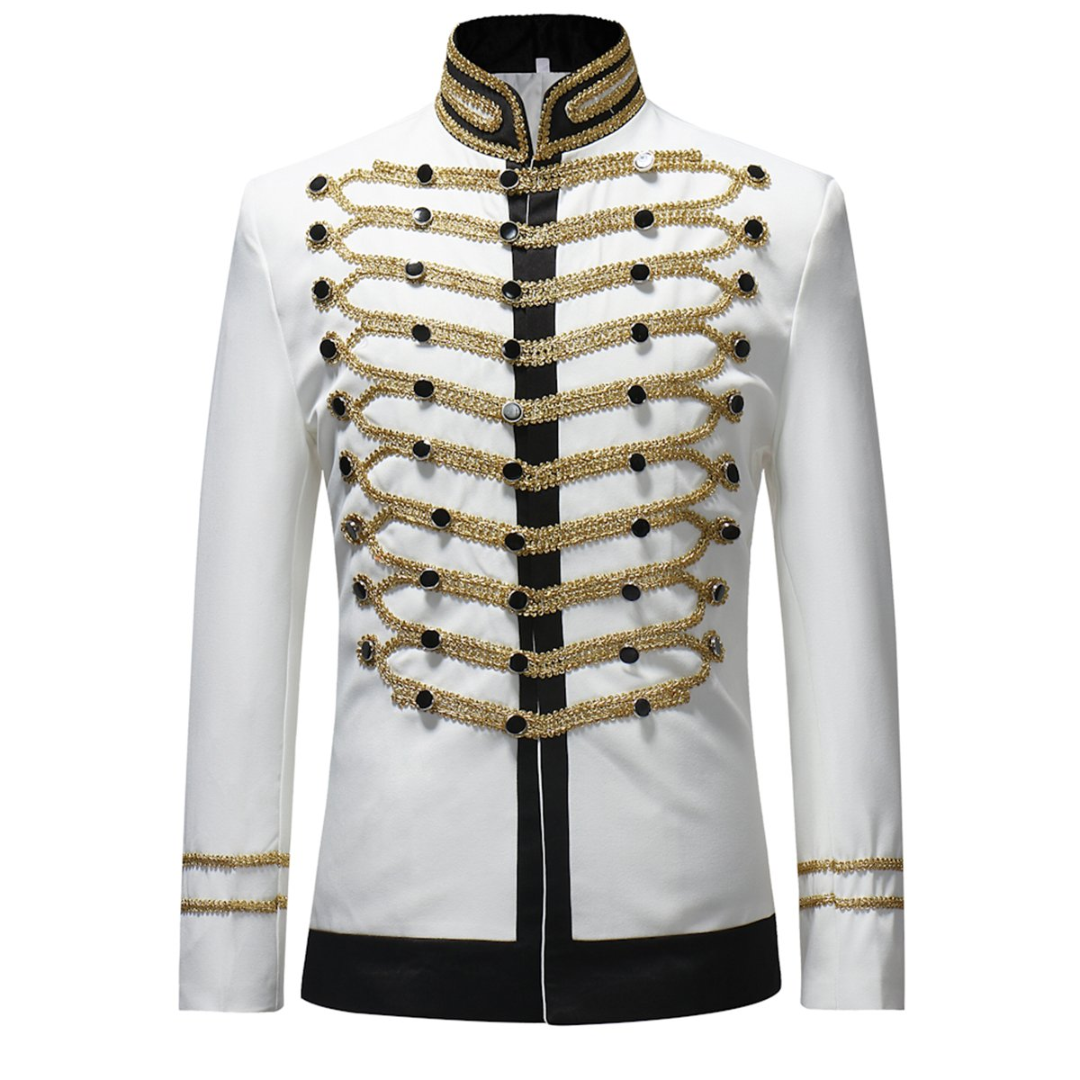 Cloudstyle Mens Suits Notched Lapel Wedding Party Blazer Dinner Vintage Jacket