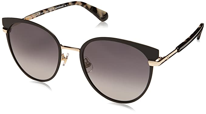 584c6358311 Amazon.com  Kate Spade Women s Janalee s Round Sunglasses Black 53 ...