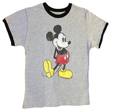 545b6eeb6d48 Amazon.com: DISNEY BOYS Classic T-Shirt, Nostalgia Mickey Mouse ...