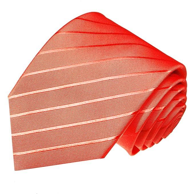 Farbe Koralle lorenzo cana designer luxus krawatte 100 seide farbe rosa pink