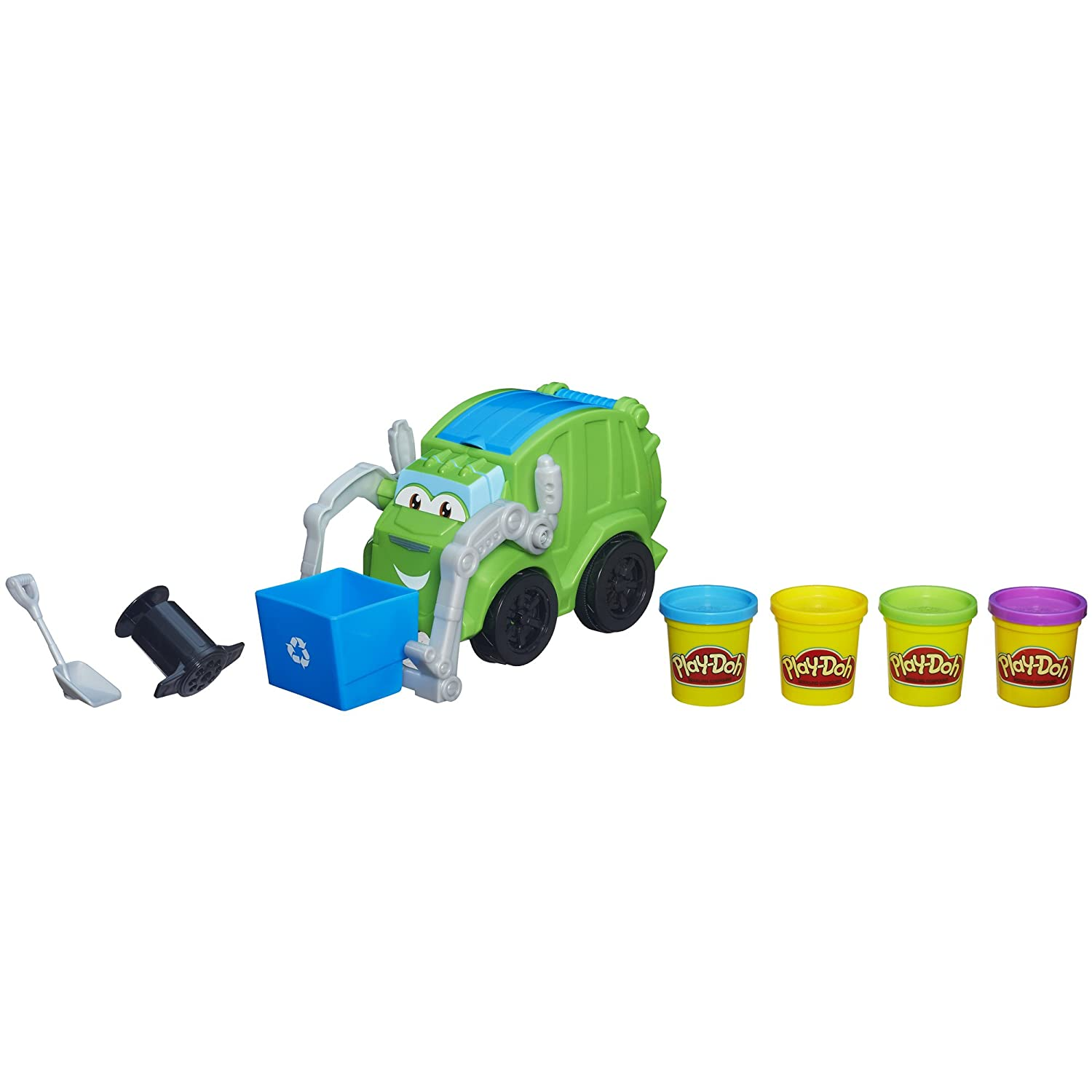 Get ready garbage truck coloring book - Amazon Com Play Doh Trash Tossin Rowdy The Garbage Truck Toys Games