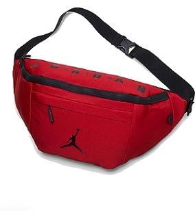 b59012b7dfa Amazon.com | Nike Air Jordan Jumpman Crossbody Bag (One Size, Black ...