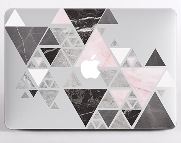 sports shoes 4ac69 668c4 Amazon.com: Macbook Air Case 13 inches Marble Air 13 Case White Pink ...