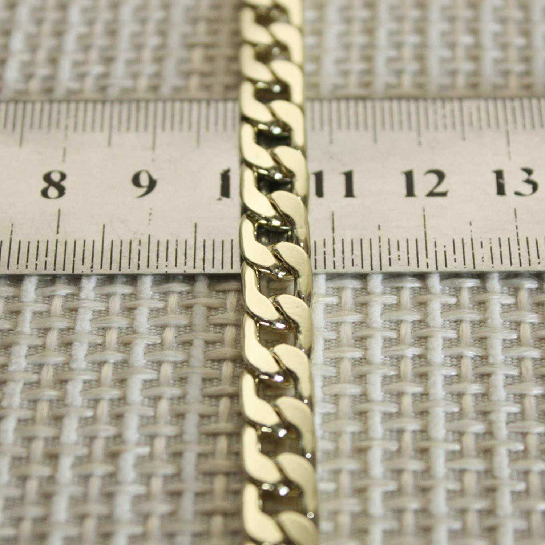 larga cadena de metal para bolsa talla /única dorado Correa de hombro de cadena para bolsas de mensajero carteras