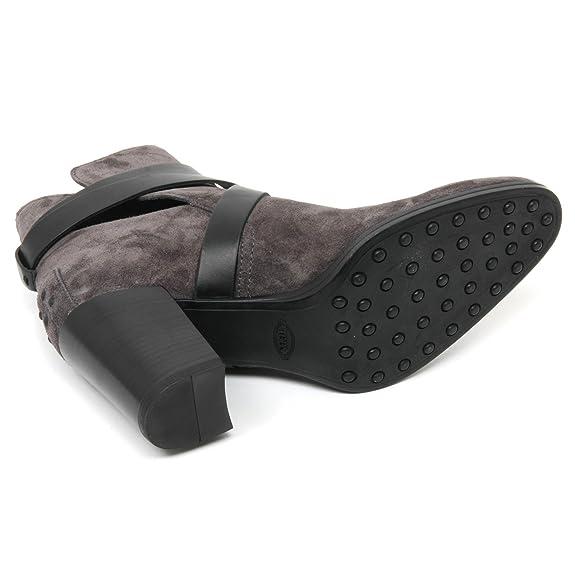 Boot Gomma Shoe B9042 Scarpa Tod's Grigionero T70 Tronchetto Donna UzqZ8wtT