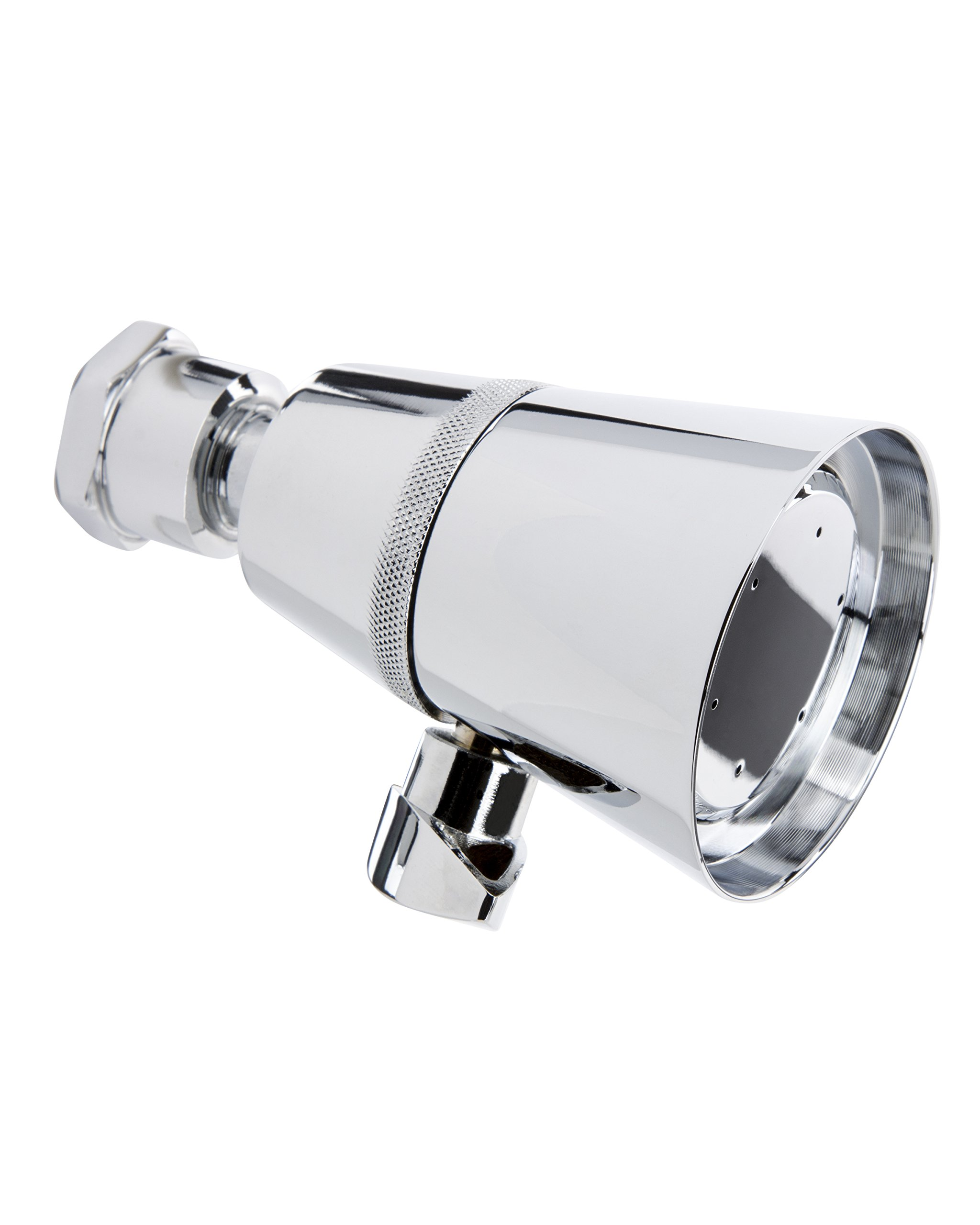 Keeney K706CP Stylewise Shower Head with Adjustable Spray, Polished Chrome Finish