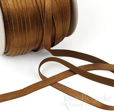 DIY PARK 5 Yard 4mm Solid Skinny Elastic Spandex Band Lace Baby Headband Sewing Trim DIY Craft Peach
