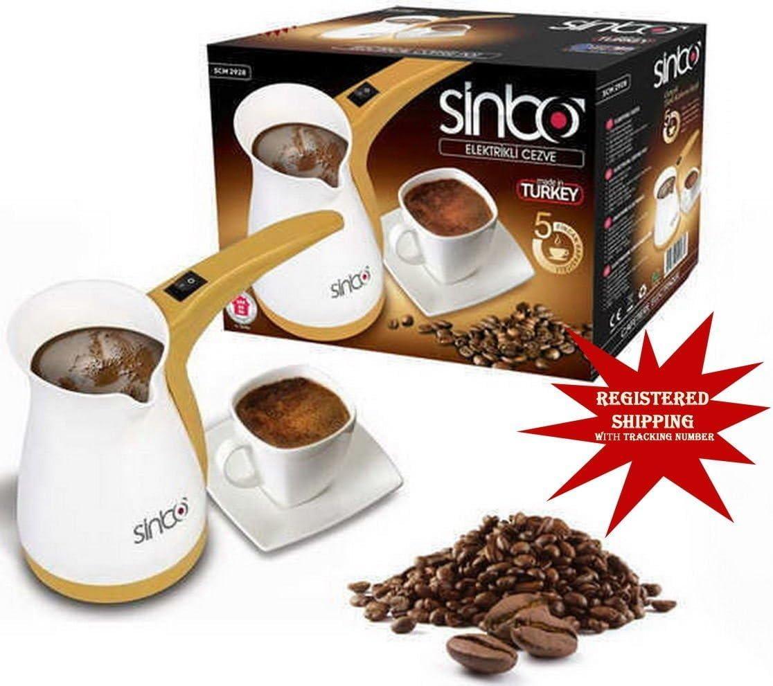 2951 Sinbo Greek Turkish Coffee Machine Espresso Electric ibrik Pot SCM 2928