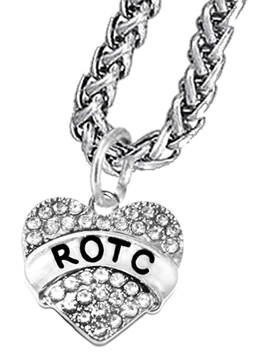 Lead and Cadmium Free Hypoallergenic Safe-Nickel Cardinali Jewelry ROTC,Beautiful Antique Wheat Chain Necklace