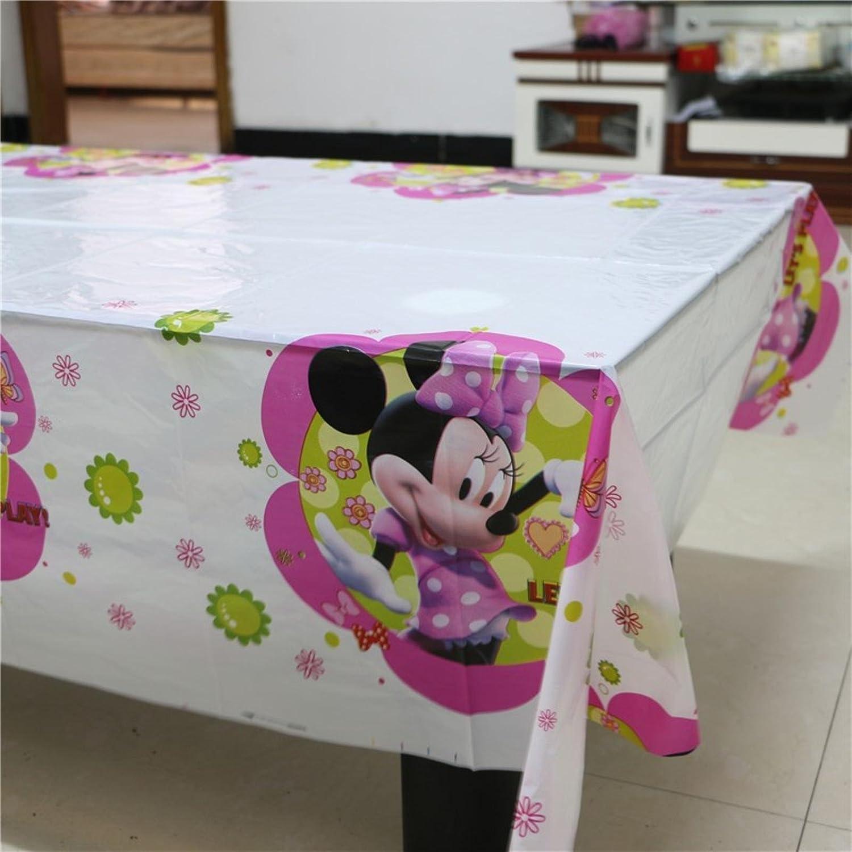 Galda. Mantel de minnie para cumpleaños y fiestas, Disney ...