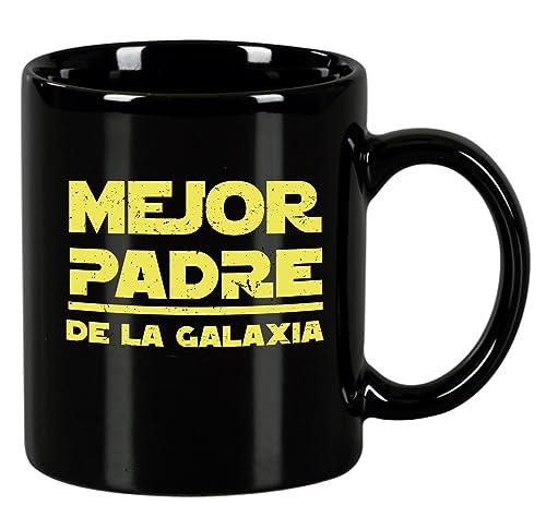 Taza de desayuno Mejor padre de la galaxia